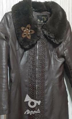 پالتو چرم خز دار  در گروه خرید و فروش لوازم شخصی در تهران در شیپور-عکس1