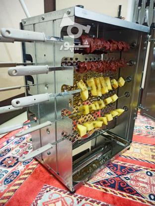 کباب پز کبابپز گازی بدون دود دادلیسان گردان در گروه خرید و فروش خدمات و کسب و کار در تهران در شیپور-عکس6
