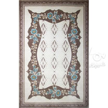 فرش ماشینی ساوین طرح فانتزی مدرن 1507 آبی در گروه خرید و فروش لوازم خانگی در تهران در شیپور-عکس1