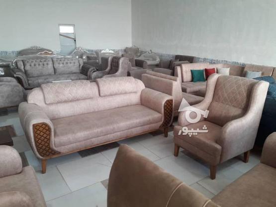 مبل 7 نفره  مدل ژینوس با کیفیت عالی  در گروه خرید و فروش لوازم خانگی در گلستان در شیپور-عکس1
