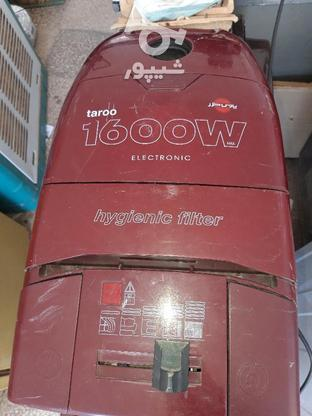 جارو برقی پارس خزر 1600 وات  در گروه خرید و فروش لوازم خانگی در آذربایجان غربی در شیپور-عکس1