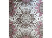 فرش ماشینی ساوین طرح فانتزی مدرن 1509 صورتی در شیپور-عکس کوچک
