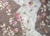 فرش ماشینی ساوین طرح مدرن فانتزی 1512 صورتی  در شیپور-عکس کوچک