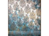 فرش ماشینی ساوین طرح فانتزی مدرن 1516 آبی  در شیپور-عکس کوچک