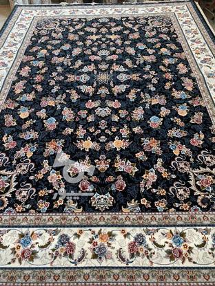 فرش عقیق دربار گیلدا 700شانه اصل تراکم 2550 تمام نخ  در گروه خرید و فروش لوازم خانگی در گلستان در شیپور-عکس5