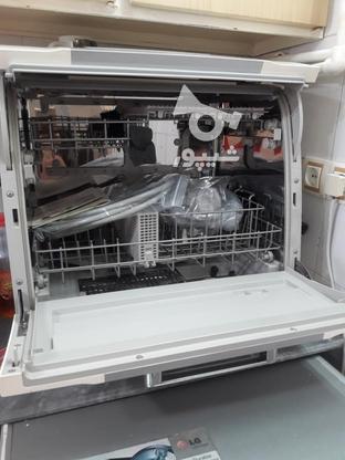 ماشین ظرفشویی 6 نفره مجیک؛ اصل کره؛ بدون کارکرد؛ تضمینی در گروه خرید و فروش لوازم خانگی در مازندران در شیپور-عکس2