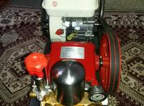 یک دستگاه موتور پمپ سمپاشی در شیپور-عکس کوچک