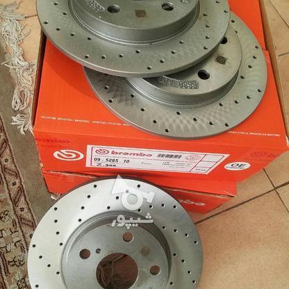 دیسک ترمز سوراخدار جلو آریو Z300 در گروه خرید و فروش وسایل نقلیه در تهران در شیپور-عکس2