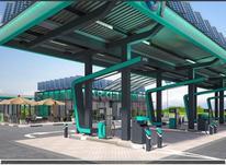 ساخت و احداث پمپ بنزین و مجتمع خدمات رفاهی لاکچری در شیپور-عکس کوچک