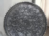 مجمعه مسی قدیمی قلم زنی در شیپور-عکس کوچک