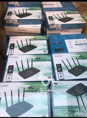 هیولای مودم سیمکارتی 4آنتنه در گروه خرید و فروش لوازم الکترونیکی در اردبیل در شیپور-عکس2