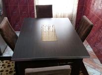 میز ناهار خوری 4نفره و جلو مبلی سالم در حد نو به شرط در شیپور-عکس کوچک