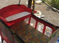 تحت بجه گراکو سالم تمیز همرا با جای تعویض کهنه  در شیپور-عکس کوچک