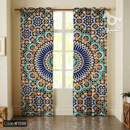 پرده ارزان قیمت طرح سنتی کیفیت عالی در گروه خرید و فروش لوازم خانگی در تهران در شیپور-عکس3