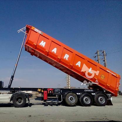 تریلی کمپرسی سه محور ماموت ومارال در گروه خرید و فروش خدمات و کسب و کار در زنجان در شیپور-عکس3