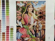 فروش تابلو طرح دختر قاجار در شیپور