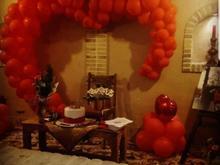 دیزاین تولد، ولنتاین، دیزاین جهیزیه، گل آرایی سفره عقد، خنچه در شیپور