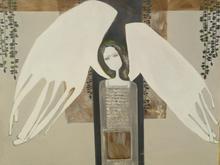 تابلوی زیبا حضرت جبرائیل اثر استاد صوره محمدی در شیپور
