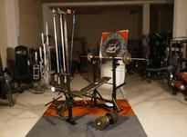 دستگاه 48 حرکته بدنسازی باتجهیزات کامل دمبل و هالتر در شیپور-عکس کوچک