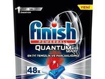 قرص ماشین ظرفشویی finish فینیش کوانتوم مکس 48 عددی در شیپور