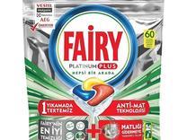 قرص ماشین ظرفشویی fairy فیری پلاتینیوم پلاس 60 عددی در شیپور