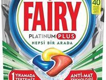 قرص ماشین ظرفشویی fairy فیری پلاتینیوم پلاس 40 عددی در شیپور