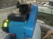 لوله بازکنی با دستگاه باد قوی در شیپور-عکس کوچک