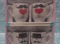 فنجان زوج قاشقدار در شیپور-عکس کوچک