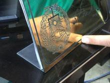 حک لیزر / ساخت تابلو استیل/ساخت تم تولد در شیپور
