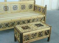 تخت سنتی باجلومبلی وقاب آینه در شیپور-عکس کوچک