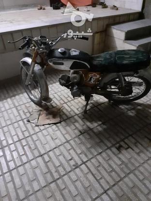 یاماها بقل استیل64  در گروه خرید و فروش وسایل نقلیه در اصفهان در شیپور-عکس3