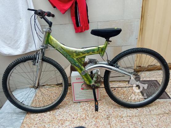 دوچرخه کوهستان سایز26دنده ای در گروه خرید و فروش ورزش فرهنگ فراغت در اصفهان در شیپور-عکس1