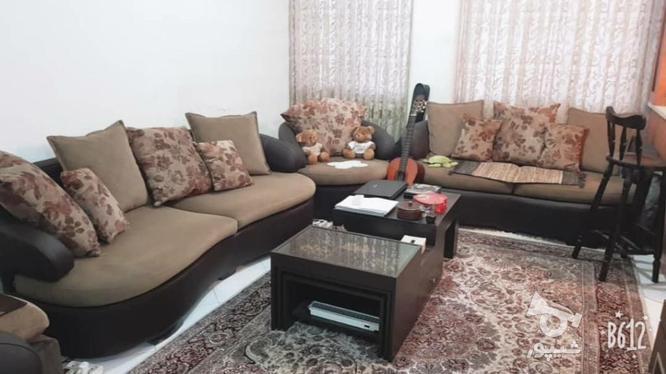 مبل راحتی چرم در حد نو مناسب با جهیزیه  در گروه خرید و فروش لوازم خانگی در تهران در شیپور-عکس2