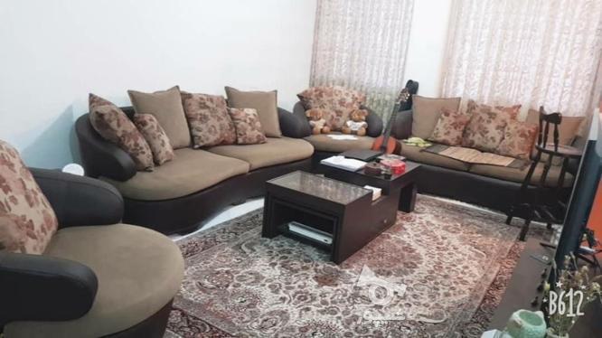 مبل راحتی چرم در حد نو مناسب با جهیزیه  در گروه خرید و فروش لوازم خانگی در تهران در شیپور-عکس1