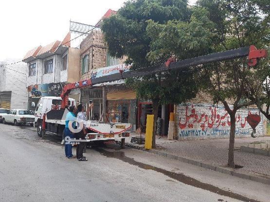 فروش جرثقیل کفی  در گروه خرید و فروش وسایل نقلیه در همدان در شیپور-عکس5