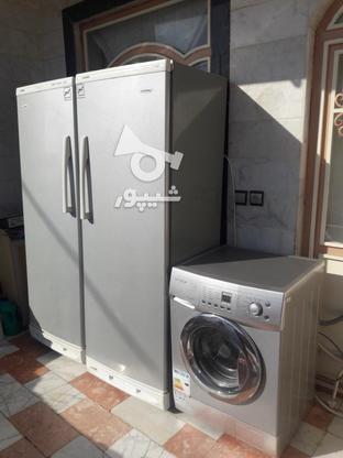 یخچال فریزر ولباسشویی اتومات در گروه خرید و فروش لوازم خانگی در خراسان شمالی در شیپور-عکس5