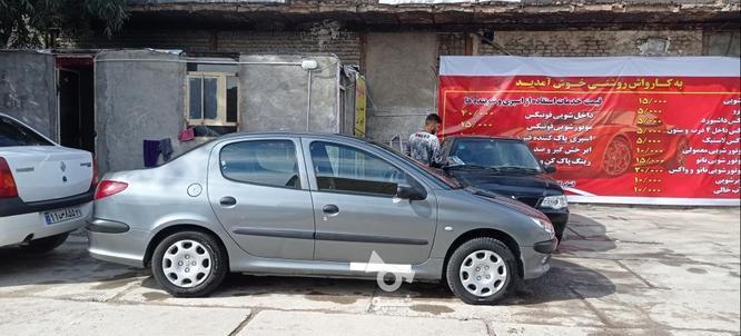 206 sd v8 کارمندی در گروه خرید و فروش وسایل نقلیه در لرستان در شیپور-عکس5