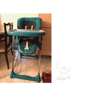 صندلی غذای کودک خارجی بسیار تمیز در گروه خرید و فروش لوازم شخصی در تهران در شیپور-عکس2
