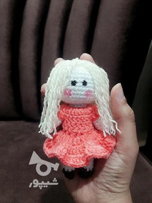 عروسک بافتنی در گروه خرید و فروش ورزش فرهنگ فراغت در خراسان رضوی در شیپور-عکس6