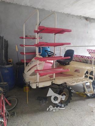 دستگاه نشا برنج هشت ردیفه یانمار در گروه خرید و فروش وسایل نقلیه در فارس در شیپور-عکس1