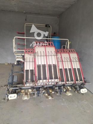 دستگاه نشا برنج هشت ردیفه یانمار در گروه خرید و فروش وسایل نقلیه در فارس در شیپور-عکس3