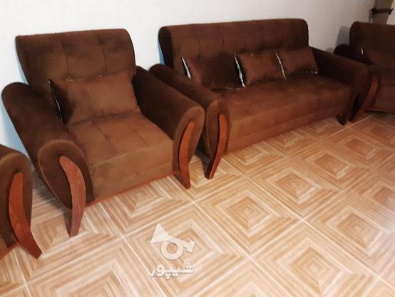 مبل راحتی 7نفره در گروه خرید و فروش لوازم خانگی در کرمانشاه در شیپور-عکس2