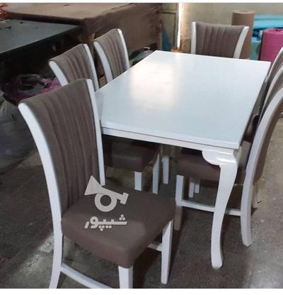 میز وصندلی نهار خوری در گروه خرید و فروش لوازم خانگی در آذربایجان شرقی در شیپور-عکس7