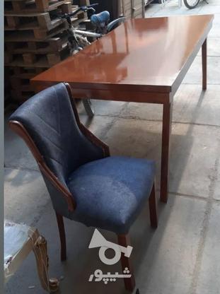 میز وصندلی نهار خوری در گروه خرید و فروش لوازم خانگی در آذربایجان شرقی در شیپور-عکس2