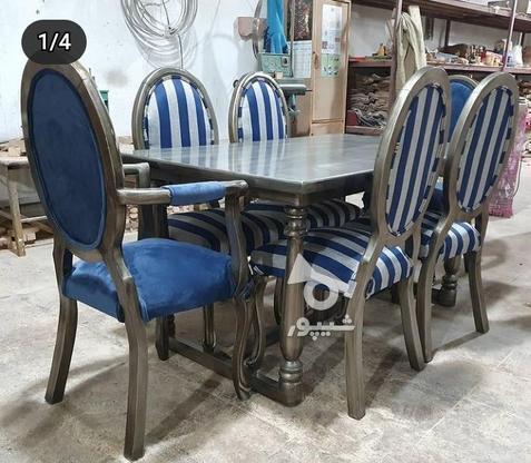 میز وصندلی نهار خوری در گروه خرید و فروش لوازم خانگی در آذربایجان شرقی در شیپور-عکس1