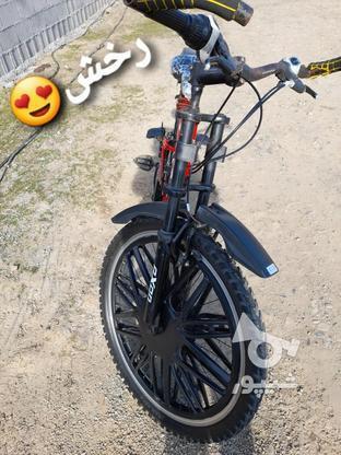 دوچرخه 26 سالم  در گروه خرید و فروش ورزش فرهنگ فراغت در گیلان در شیپور-عکس2