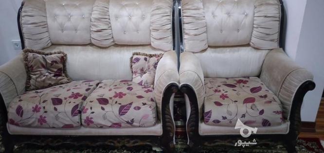 مبل 7نفره تمیز در گروه خرید و فروش لوازم خانگی در مازندران در شیپور-عکس2