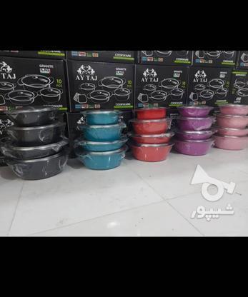 فروش قابلمه چدن 10 پارچه در گروه خرید و فروش لوازم خانگی در قزوین در شیپور-عکس1
