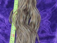 موی طبیعی رنگ عسلی 47سانت در شیپور