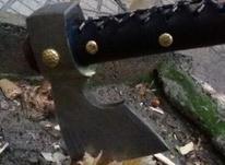 تبر کار دست تیغه فولاد در شیپور-عکس کوچک